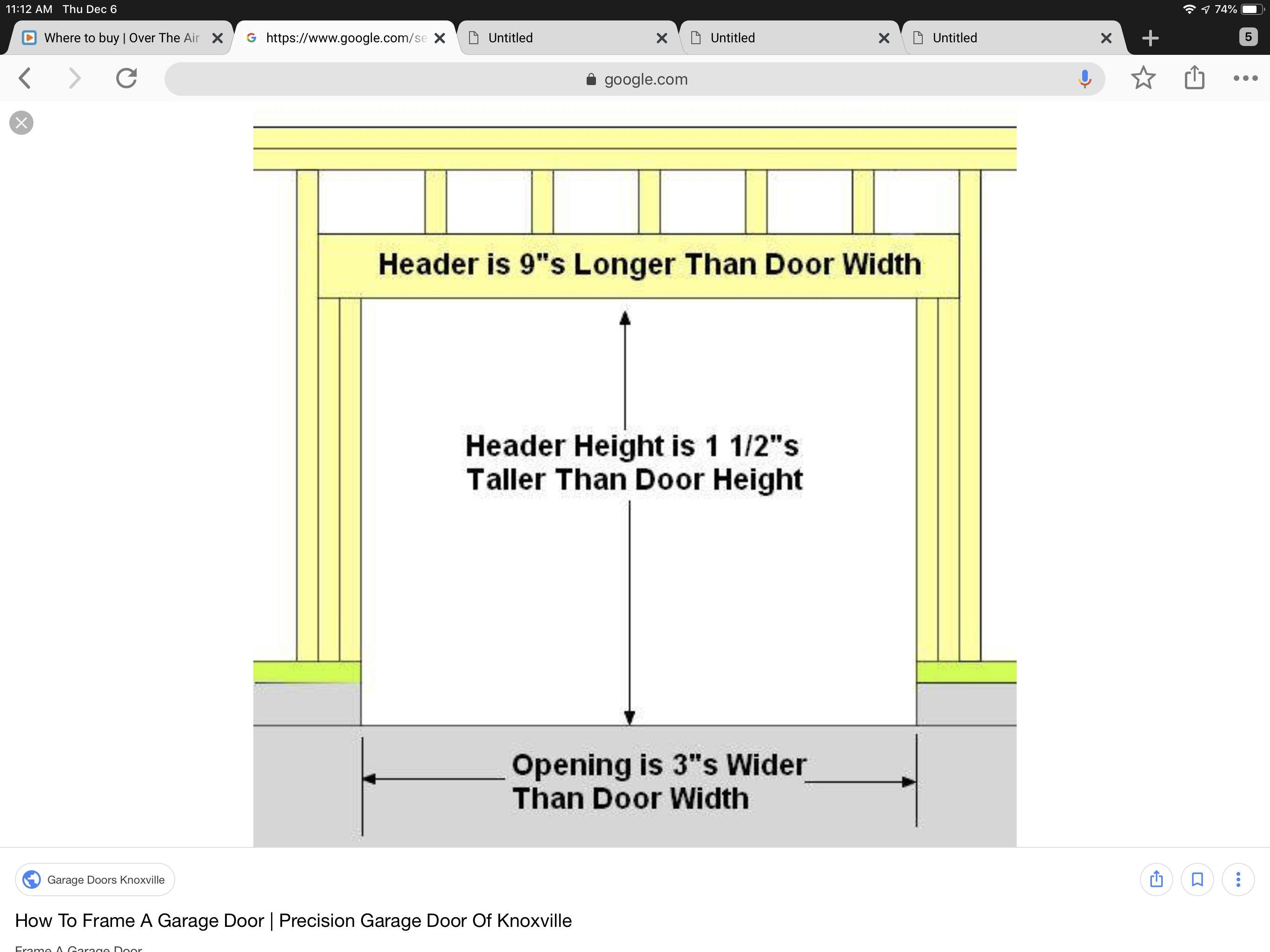 Pin By John Pflug On Rough In Size Door Window Garage Door Garage Doors Garage Doors