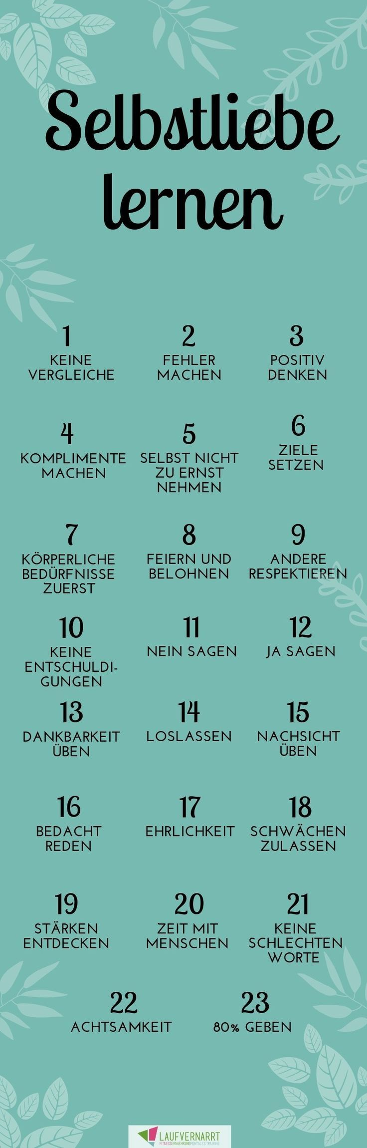 Die Selbstliebe - Ein Kompletter Guide In 23 Punkten Die Selbstliebe - ein kompletter Guide in 23 Punkten Inspirational Quotes inspirational fitness quotes