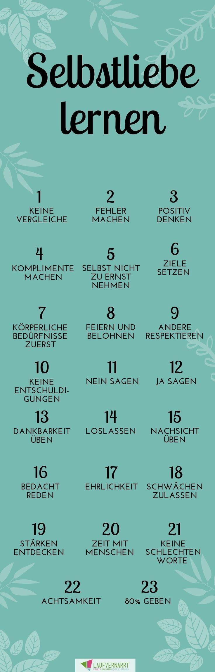 Die Selbstliebe - ein kompletter Guide in 23 Punkten #la