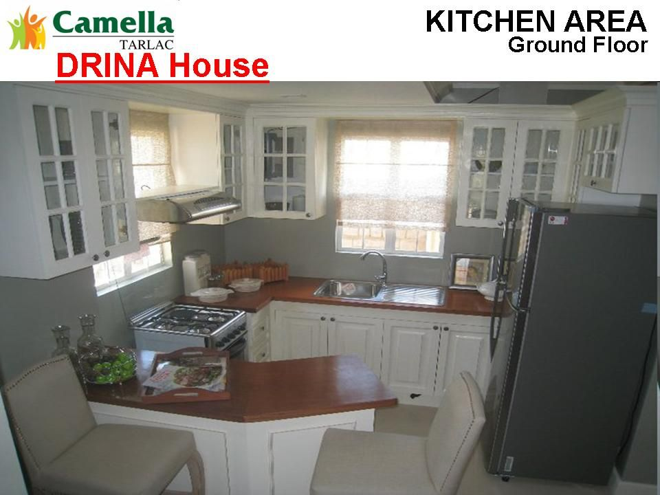 Drina House Camella Homes Tarlac Home Small Space Kitchen House