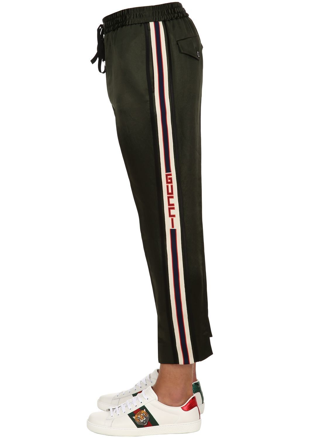7b3430baa GUCCI JAPANESE ACETATE JOGGING PANTS. #gucci #cloth | Gucci in 2019 ...