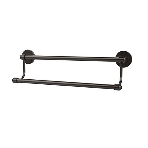 Allied Br Oil Rubbed Bronze 36 Inch Double Towel Bar Ta