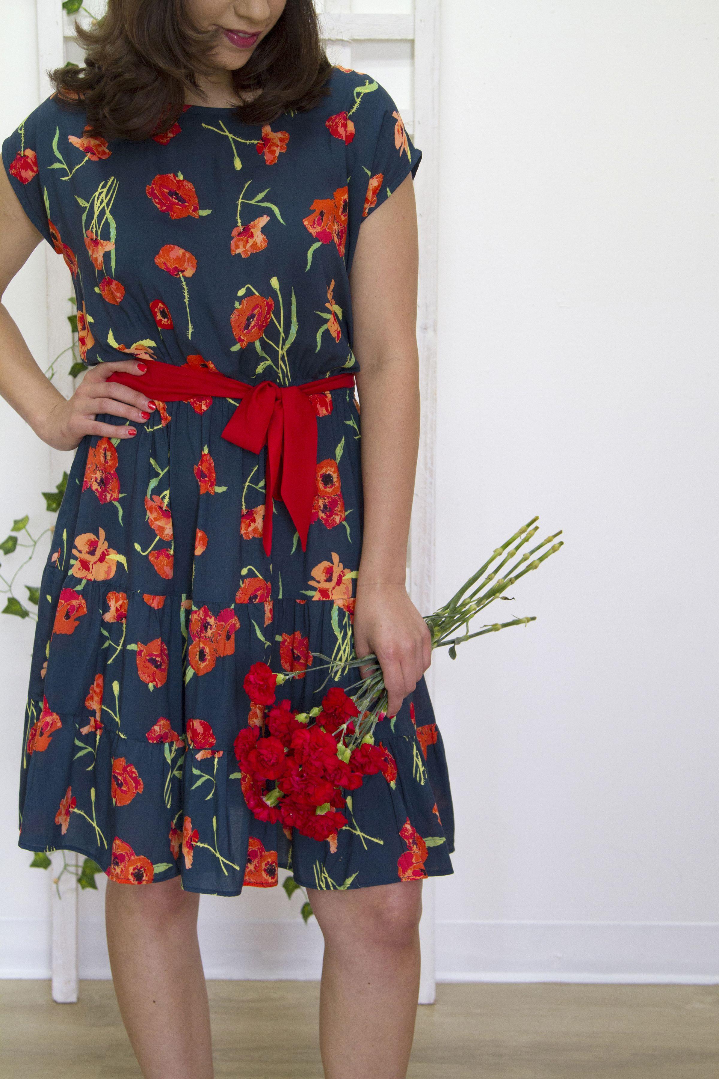 Floralish Fabric Lookbook Project Catalog Art Gallery Fabrics Rayon Dress Fashion Summer Fabrics [ 3600 x 2400 Pixel ]