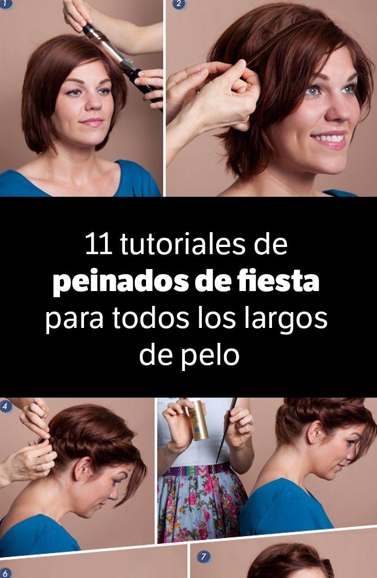 11 Tutoriales De Peinados De Fiesta Para Todos Los Largos De Pelo