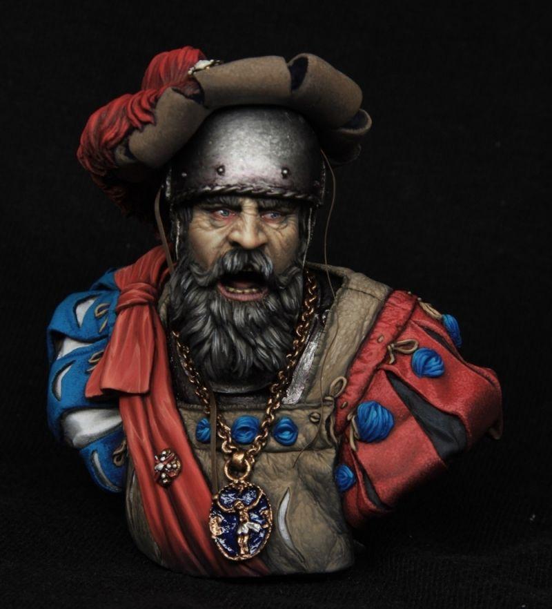 Landskneht Captain Boxart For Tartar Miniatures By Kirill