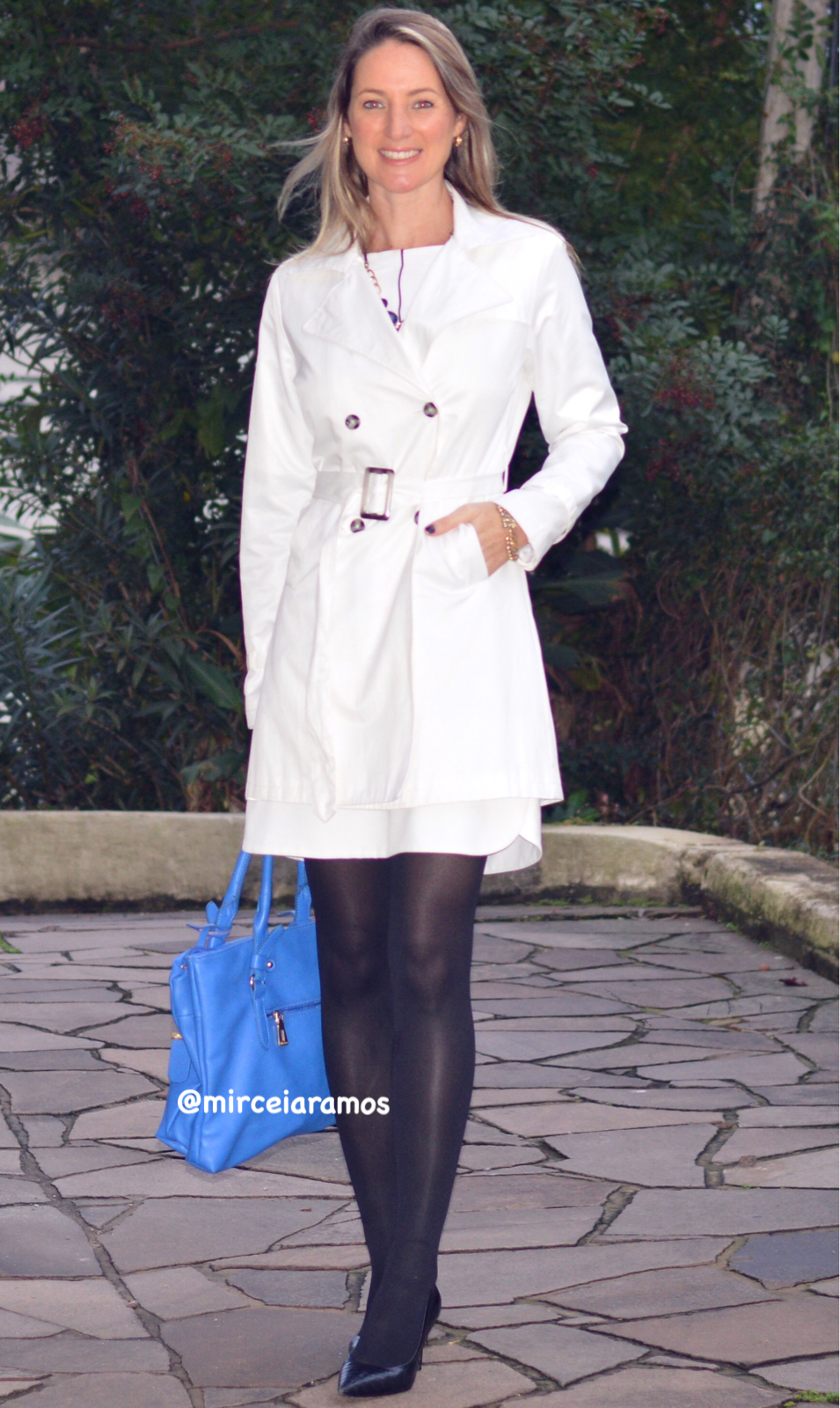 Look de trabalho - look do dia - look corporativo - moda no trabalho - work outfit - office outfit -  spring outfit - look executiva - fall outfit - trench coat branco - white