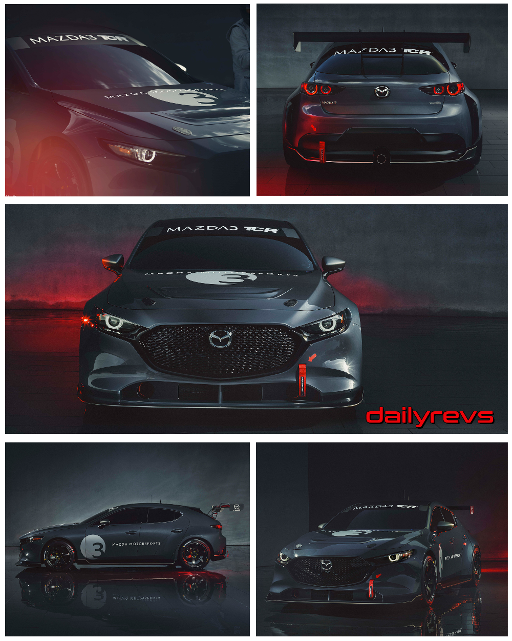 2020 Mazda 3 Tcr Hq Pictures Specs Information And Videos Mazda Mazda 3 Sportscar
