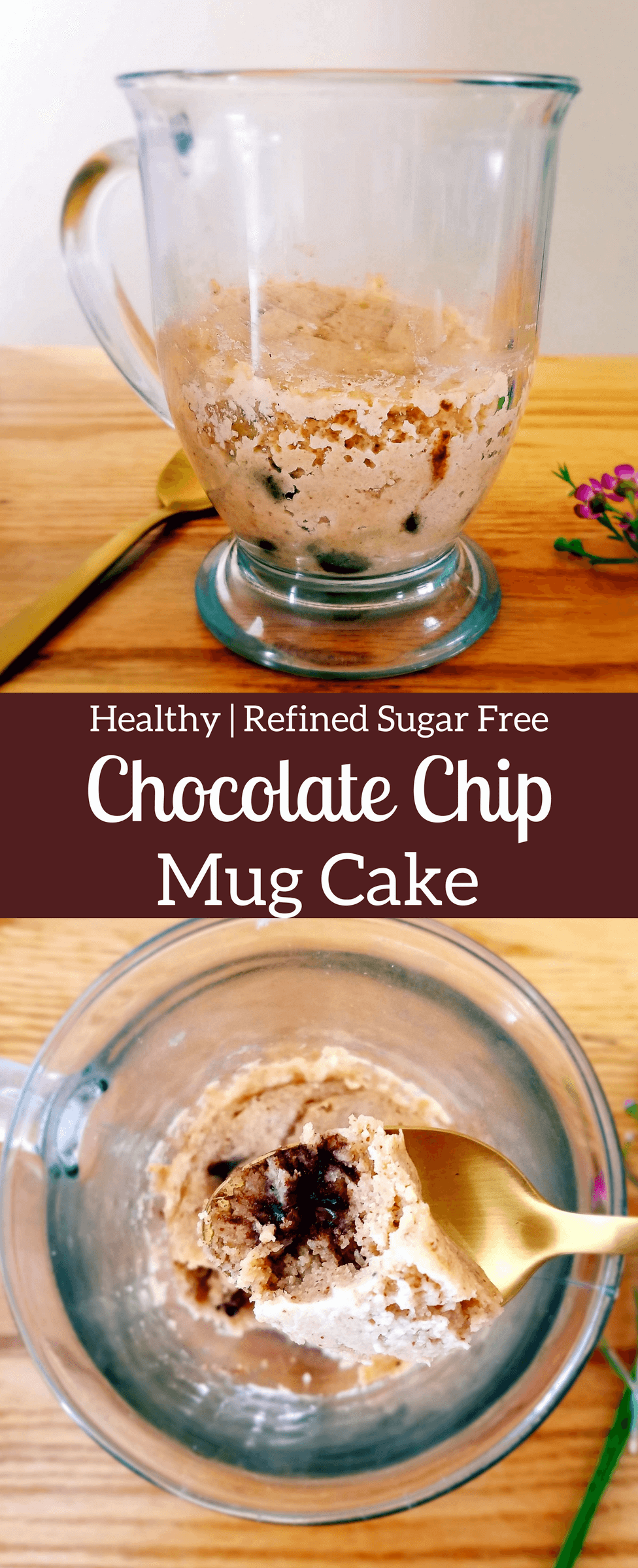 Mug Cakes Two Ways | Recipe (With images) | Chocolate chip ...