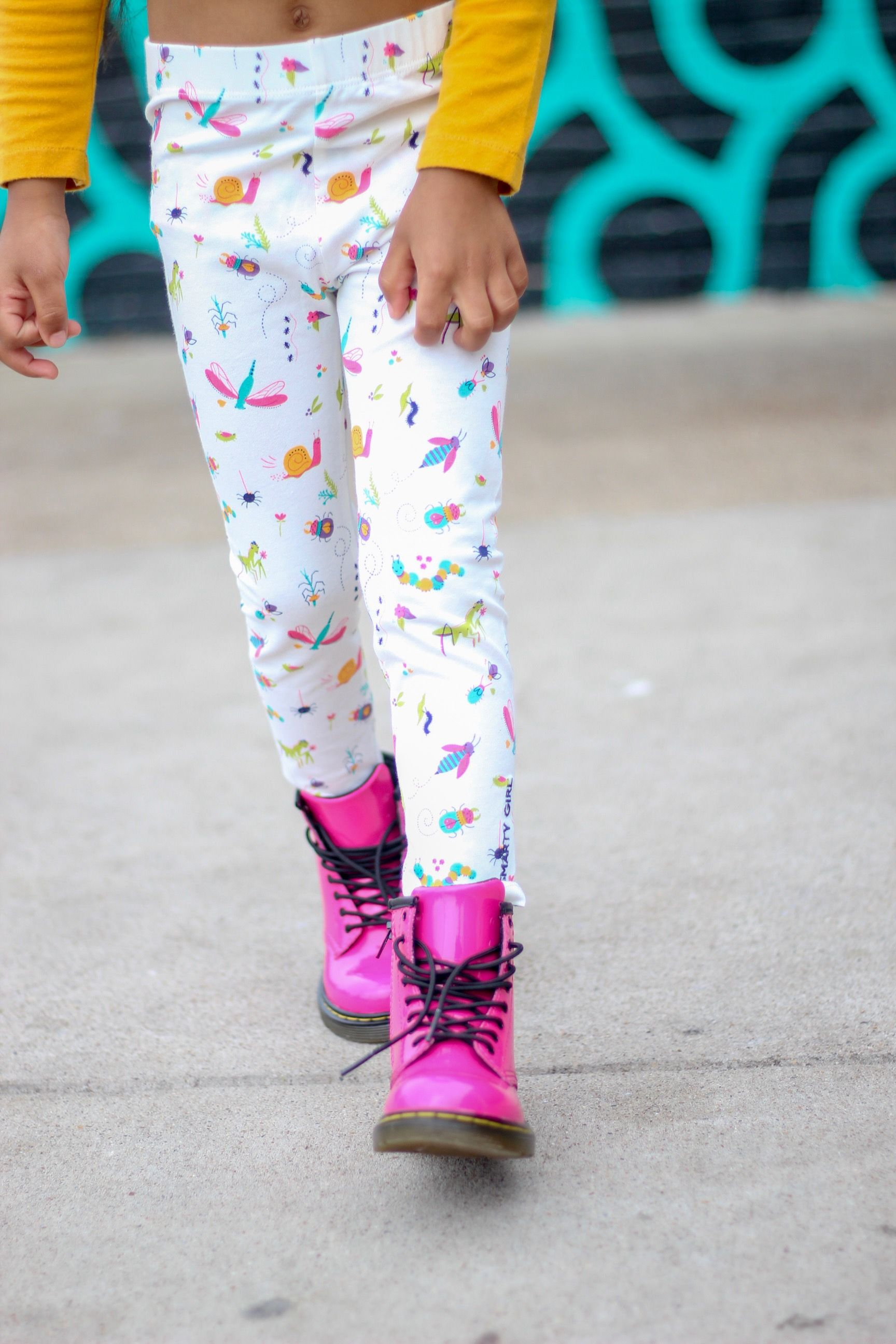 c7a7ae80f because girls like bugs, too! insect leggings for toddler girls by Smarty  Girl. great for a girl's bug themed birthday party. keywords: entomology,  ...