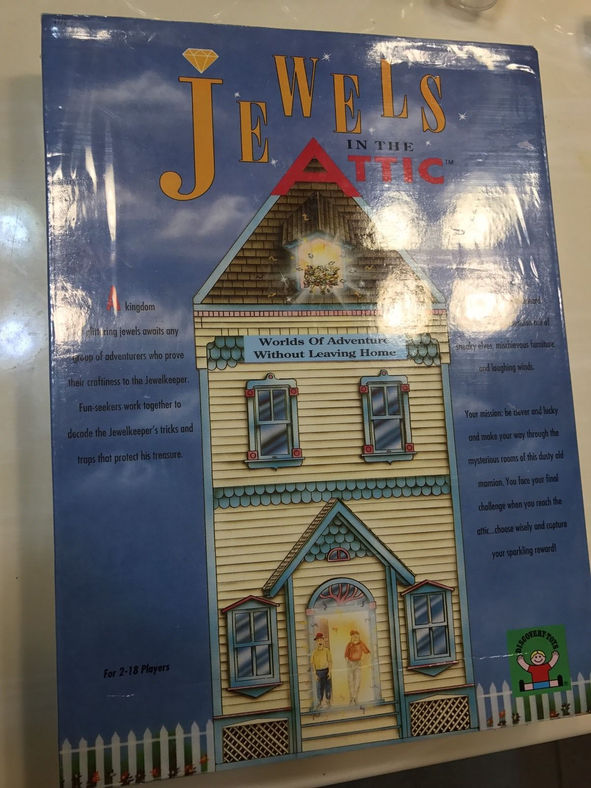 Jewels In The Attic Discovery Toys Board Game New Sealed