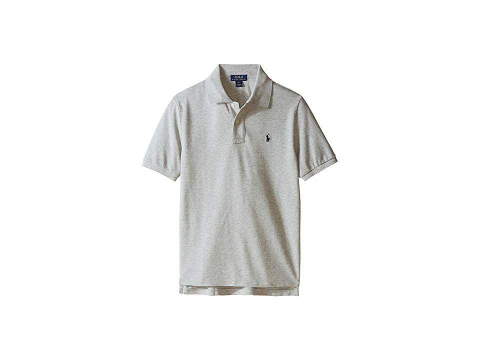 843d73c2 Polo Ralph Lauren Kids Basic Mesh Polo (Big Kids) Boy's Short Sleeve ...