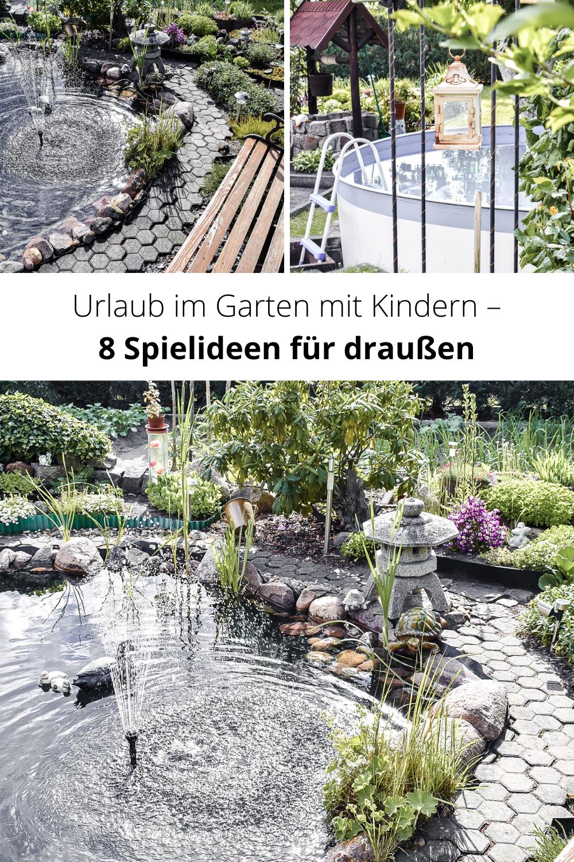Urlaub Im Garten Ideen Fur Einen Erholsamen Sommer Calistas Traum In 2020 Urlaub Garten Garten Ideen