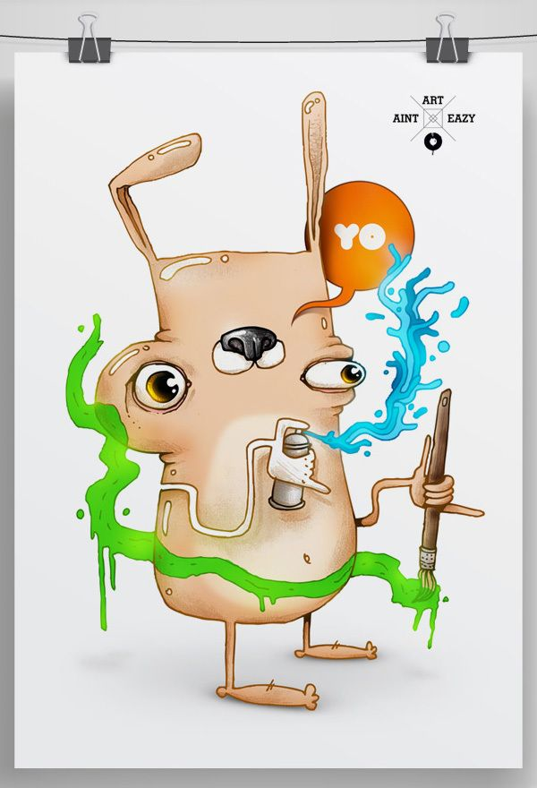 Eazy Art on the Behance Network