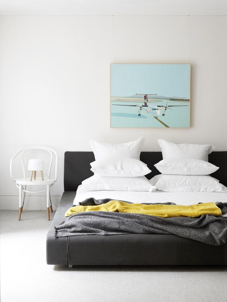 Bedroom Styled By Nina Provan At Neometro Melbourne Australia PHOTO Toby Scott For Issue