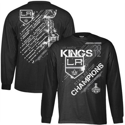 buy popular 19787 08f35 Reebok Los Angeles Kings 2012 NHL Stanley Cup Final ...
