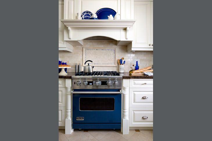 interior designer jane lockart choose a cobalt blue viking range for rh pinterest com