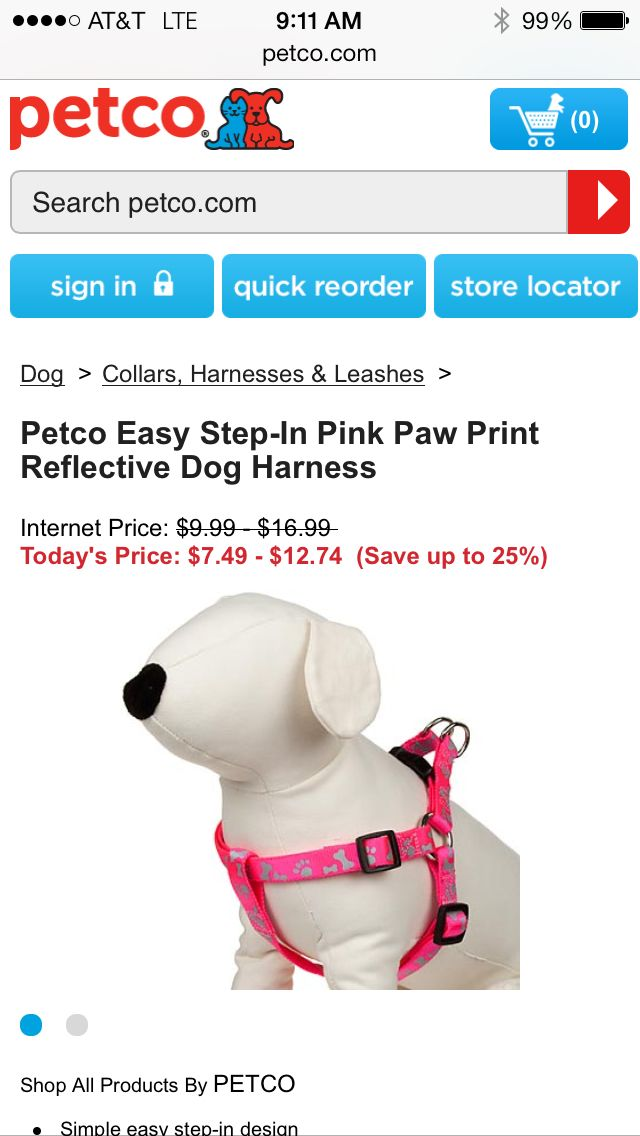 Petco Dog Harness Internet Prices Pets