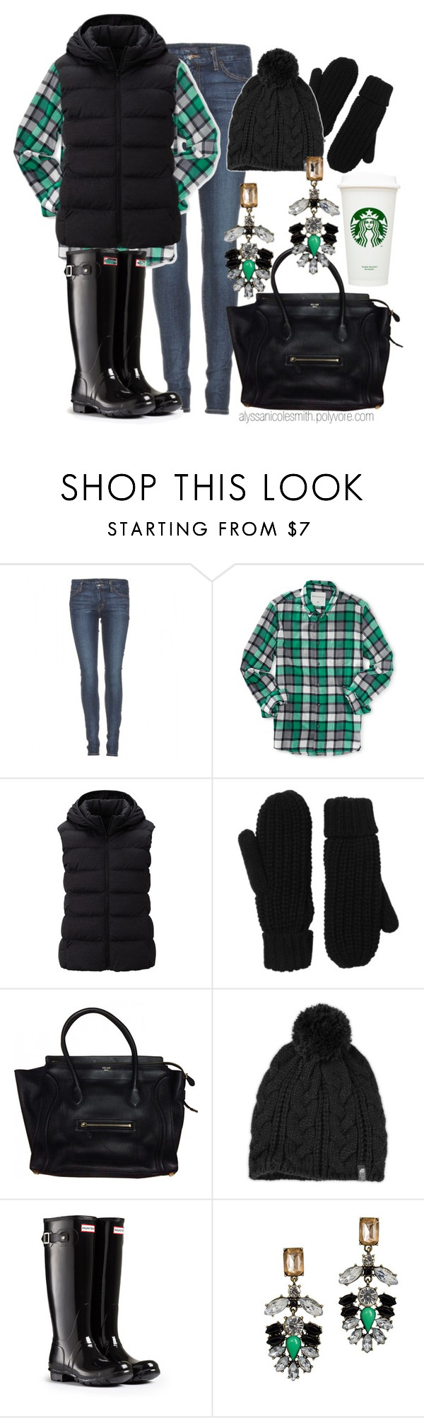 """""""Preppy Girl Winter Style"""" by alyssanicolesmith ❤ liked on Polyvore featuring Koral, Aéropostale, Uniqlo, Monki and The North Face"""