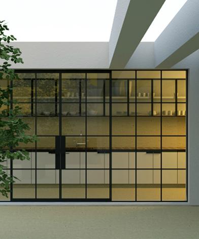 Les Interieurs Steel Frame Doors Black Window Frames Glass French Doors