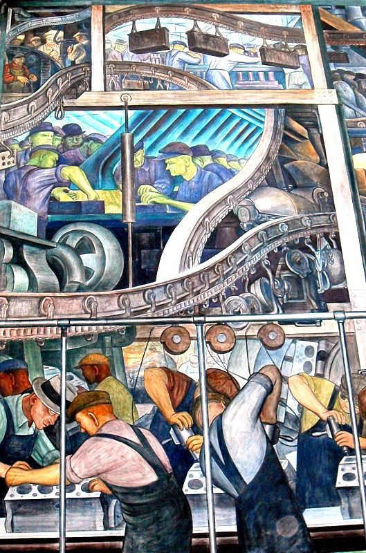Diego Rivera's Detroit Industry Murals at DIA: A Masterpiece Part ...