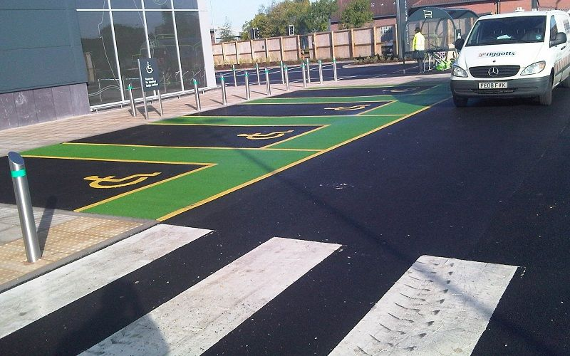 Riggotts Have Years Of Experience Creating Car Park Line Markings And Painting For All Sizes Parks Our Clients Include Some The UKs Largest