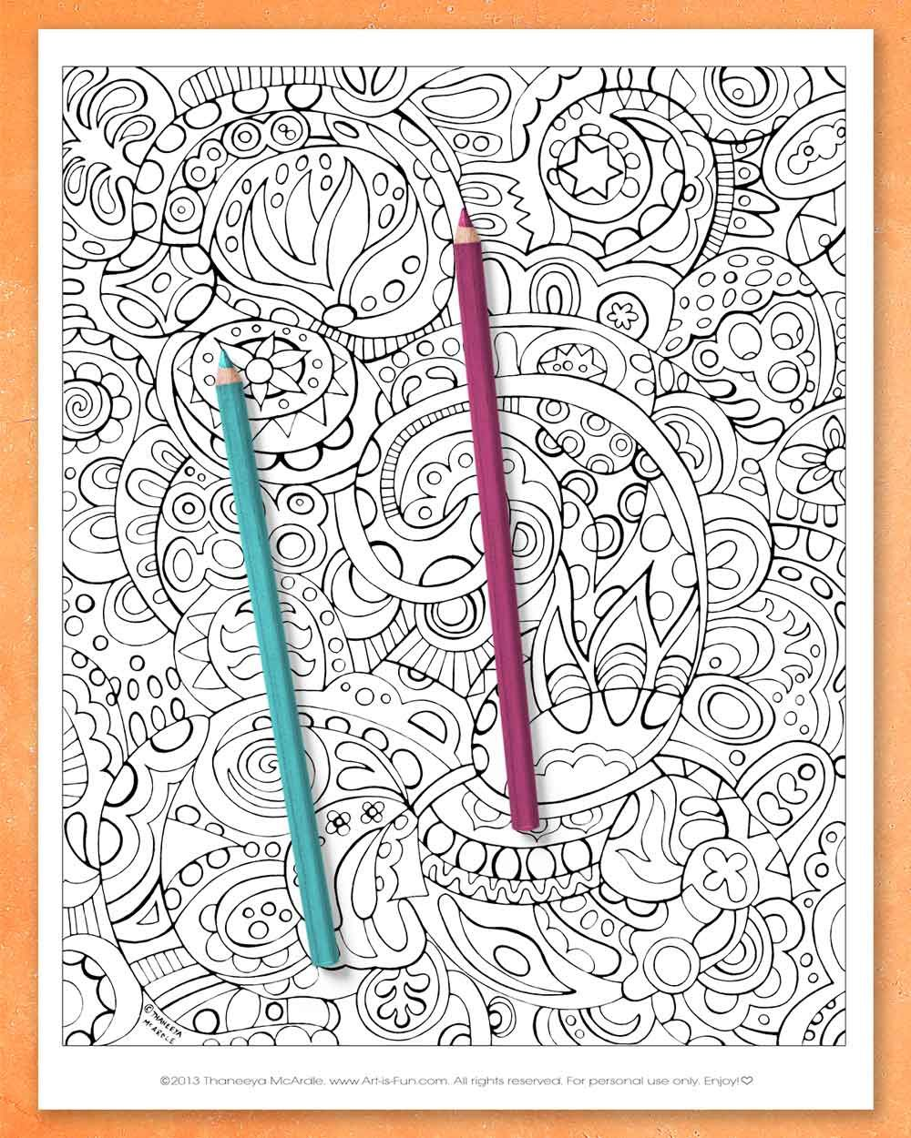 Abstract Coloring Pages Printable E Book Of Groovy Abstract Designs For You To Color Art Is Fun In 2020 Abstract Coloring Pages Coloring Pages Printable Coloring Book