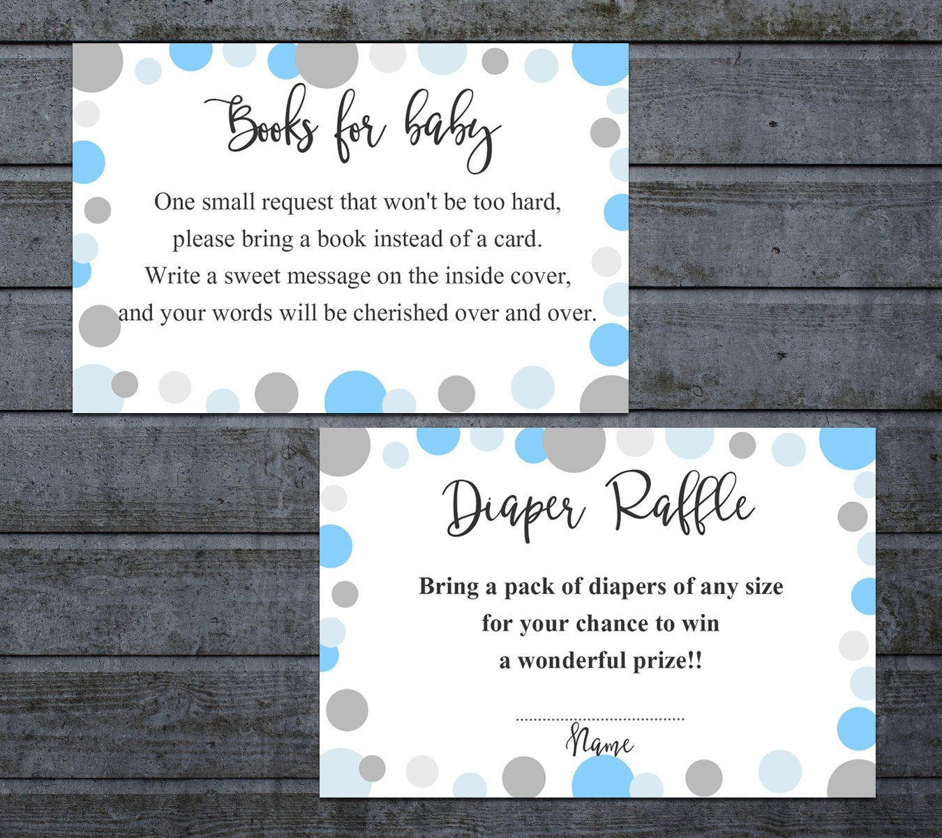 Book Request Card Diaper Raffle Printable Books For The Etsy Baby Shower Invitations For Boys Diaper Raffle Printable Baby Shower Games