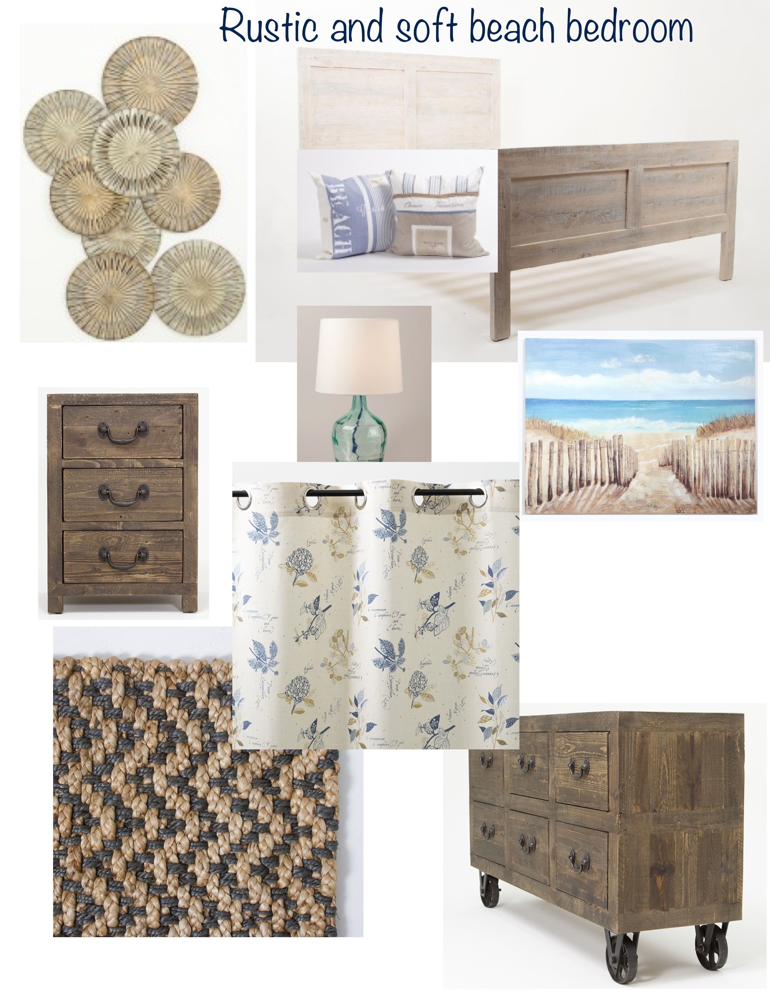 Ordinaire How To Create A Soft And Rustic Beach Themed Bedroom.