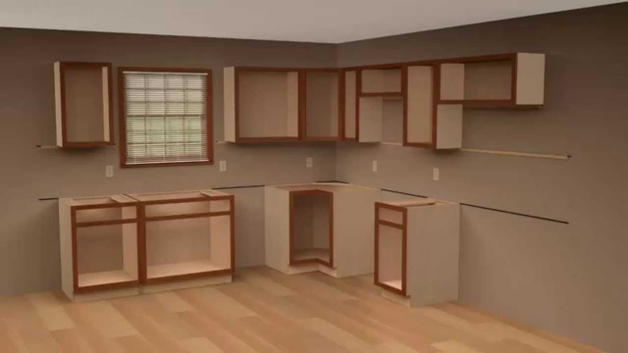 How Hard Is It To Install Kitchen Cabinets Kitchen Ideas Installing Kitchen Cabinets Installing Cabinets Hanging Kitchen Cabinets