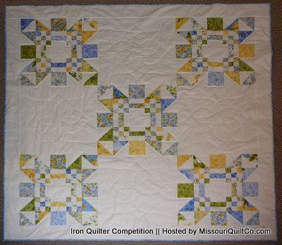 We custom mixed Baby's First Soundtrack® for our first LullaBabies in Missouri in December 2013.  So this month we are celebrating the Show Me State! Iron Quilter - Contests sponsored by the Missouri Star Quilt Co