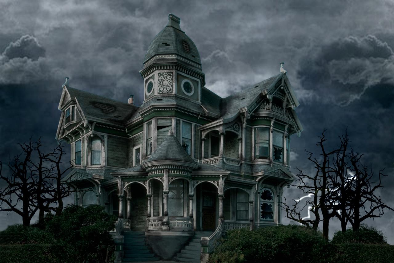 haunted house - lina   halloween in 2018   halloween, spooky house