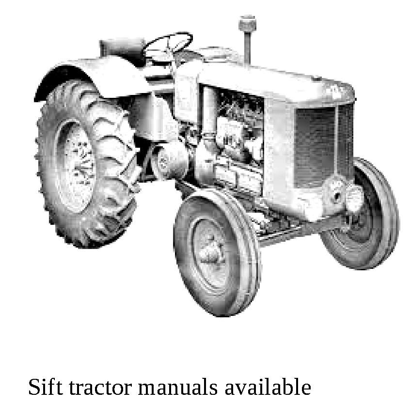 Sift Renault tractor and Renault vintage tractors manuals