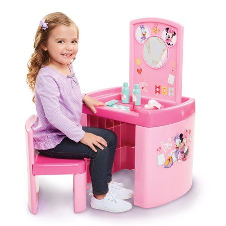 Toys Play Table Minnie Mouse Toys Kids Furniture