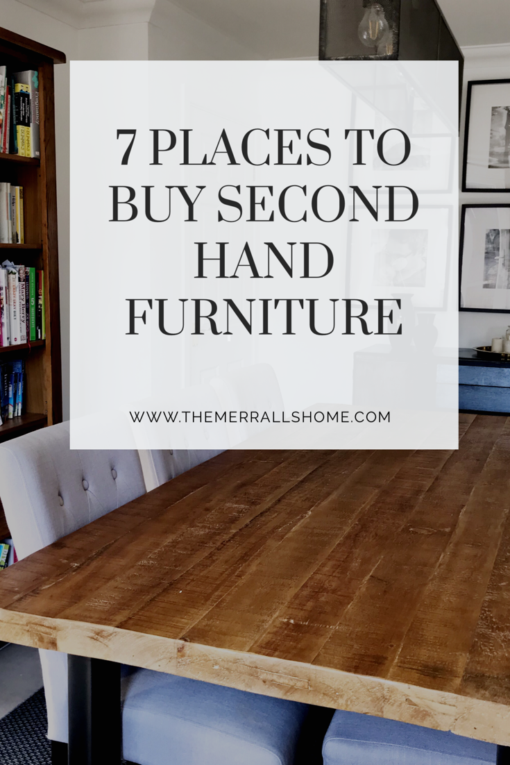 7 Places To Find Second Hand Furniture For Your Home Budget