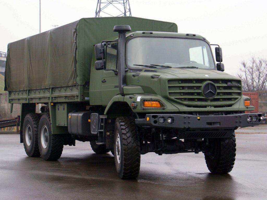 Mercedes-Benz Zetros 2733 Military Truck '2008-н.в ...