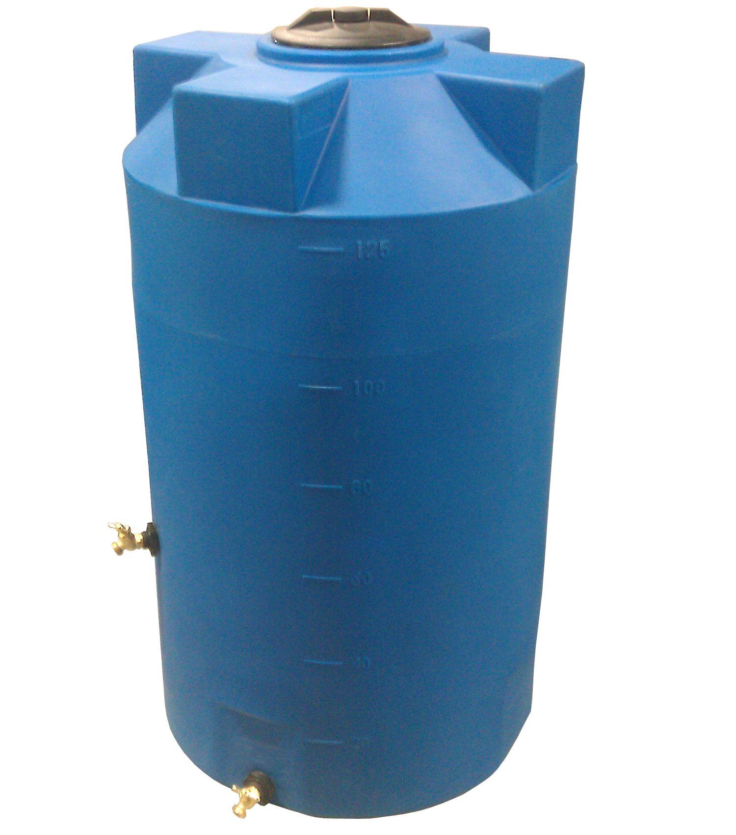 125 gallon emergency water storage tank light blue www poly mart