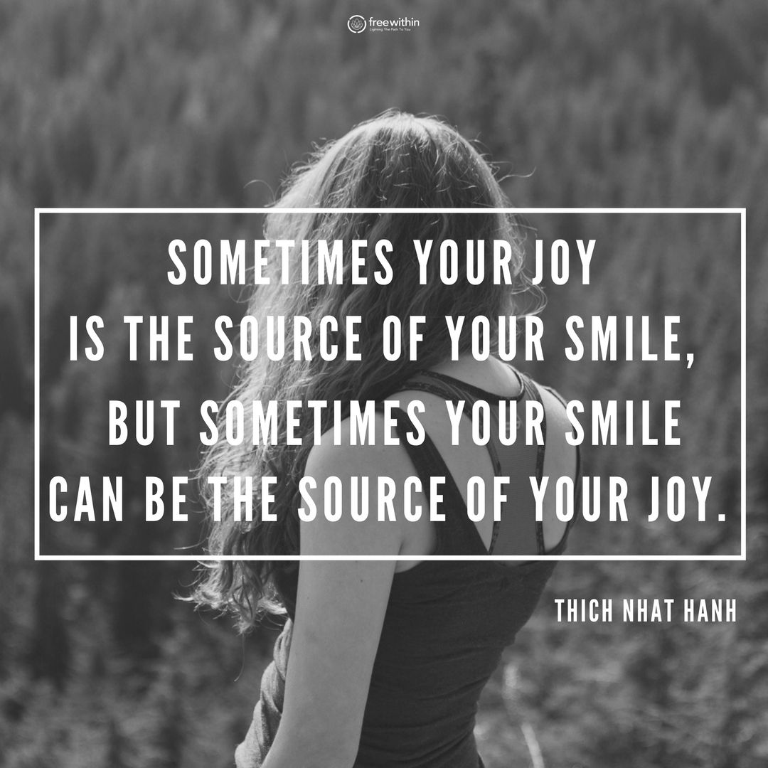 Wednesday Wisdom Sometimes Your Joy Is The Source Of Your Smile But Sometimes Your Smile Inspirational Quotes Motivation Good Times Quotes Wednesday Wisdom