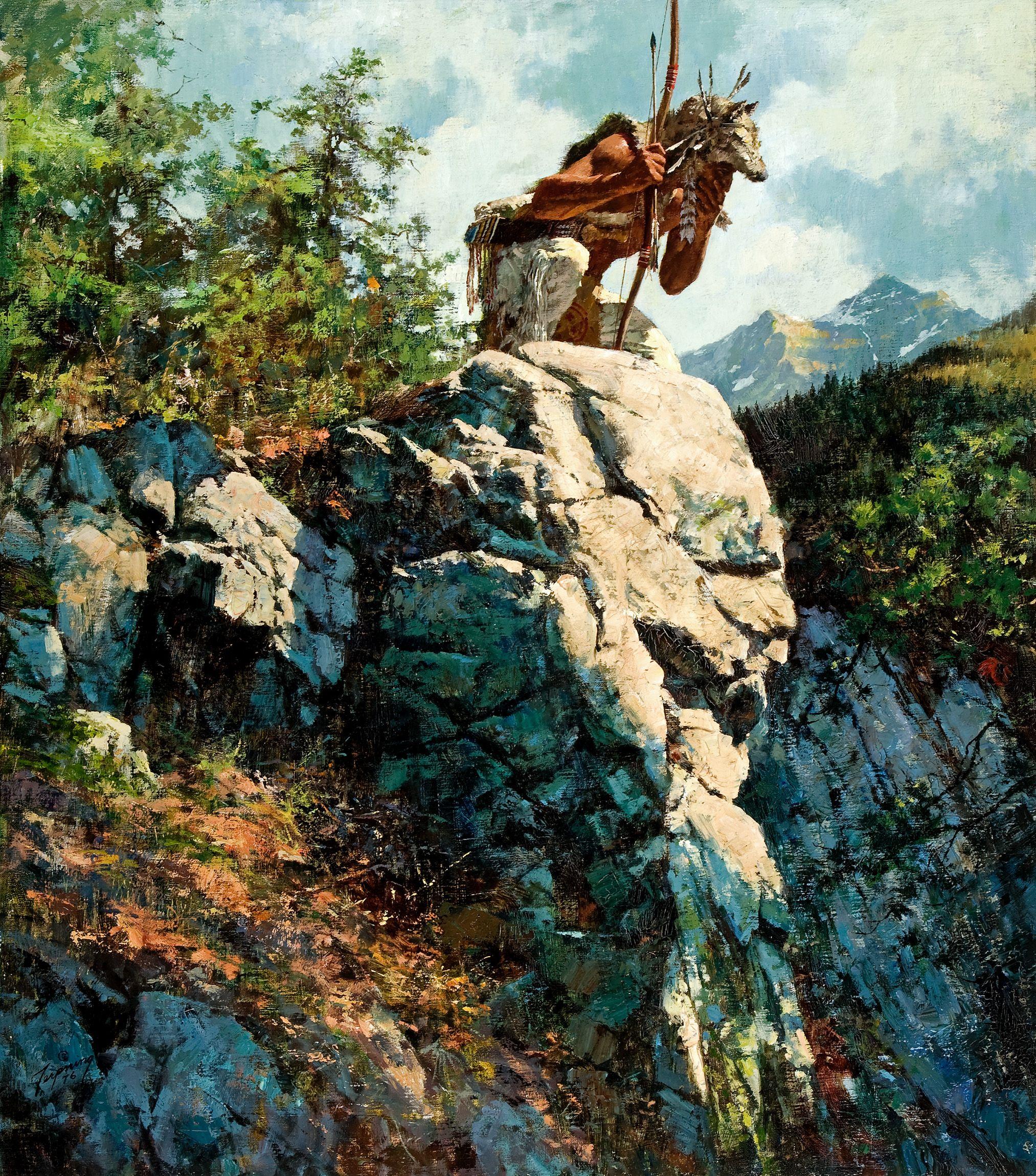 Howard Terpning Great Western Artist