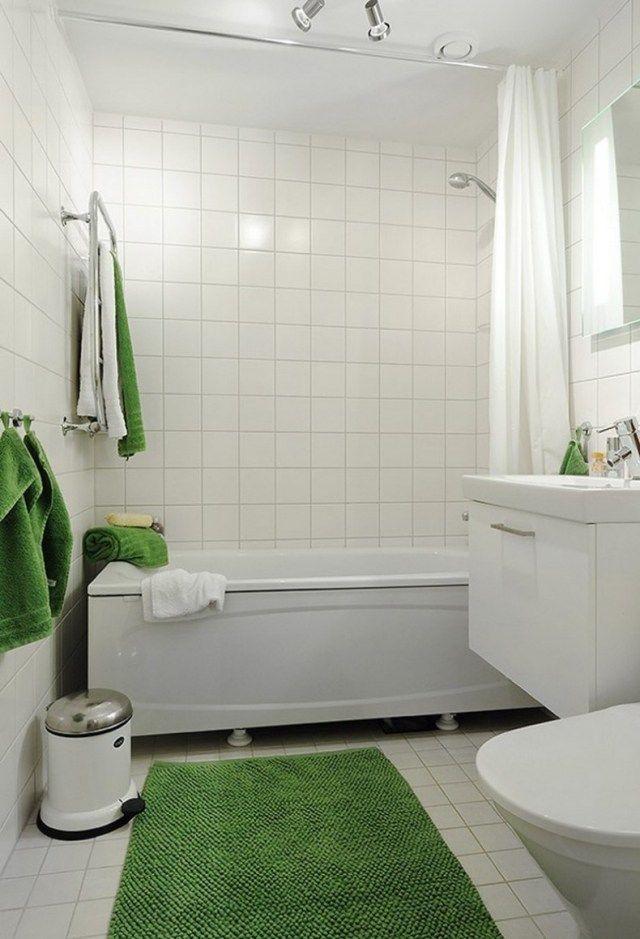 petite salle de bain moderne en 34 exemples inspirants - Salle De Bain Petite Et Moderne
