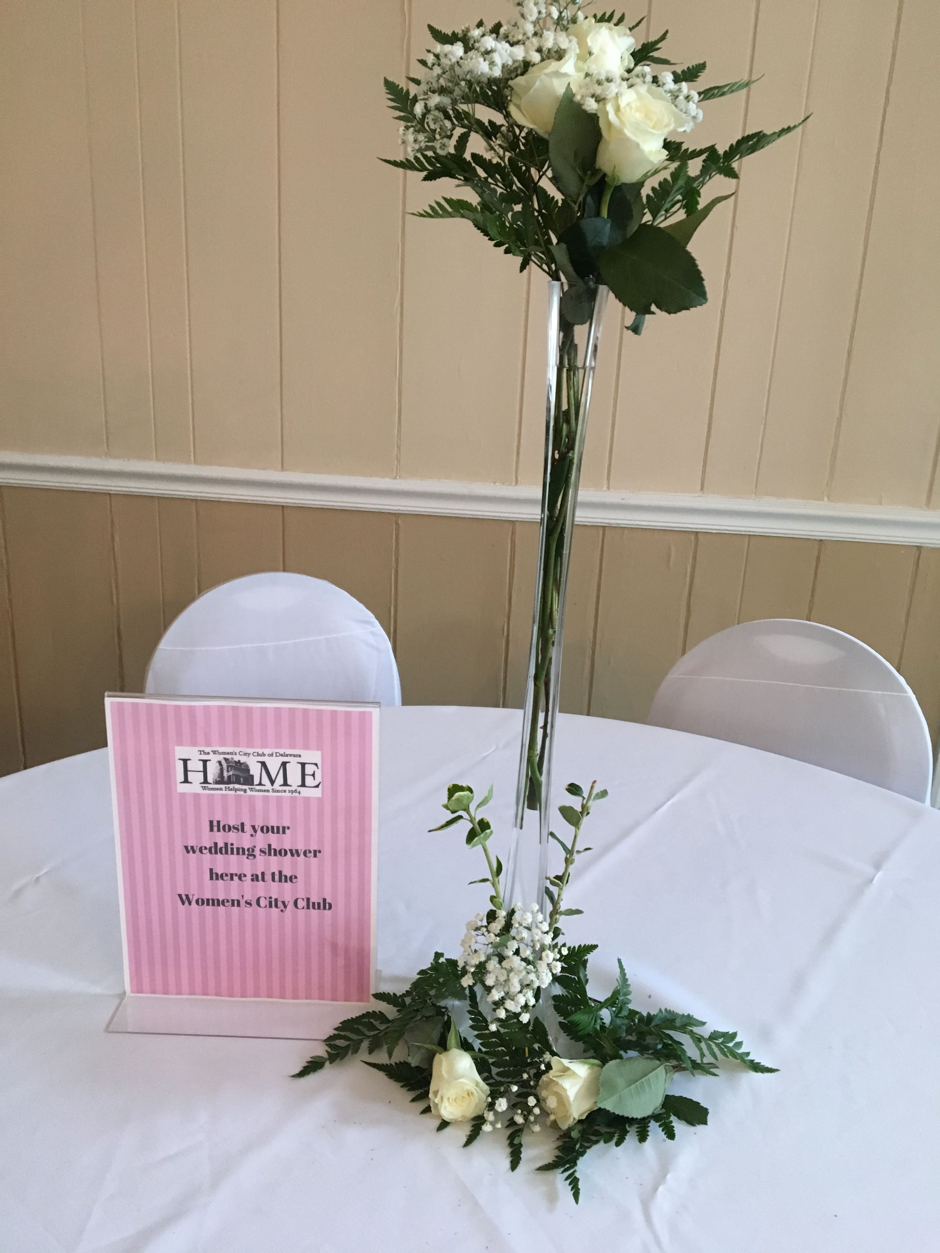 This is the centerpiece we made for the wedding table for the wccus