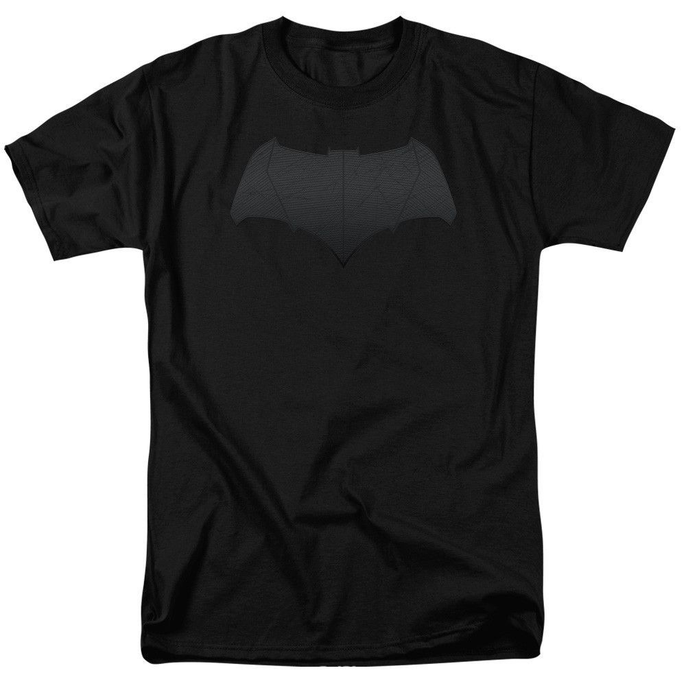 Batman V Superman Batman Logo Adult T Shirt Batman Superman