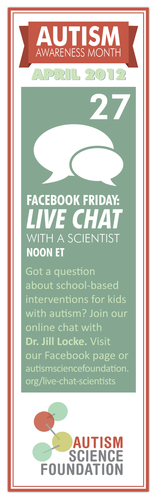 Facebook friday live chat with a scientist noon et got a question