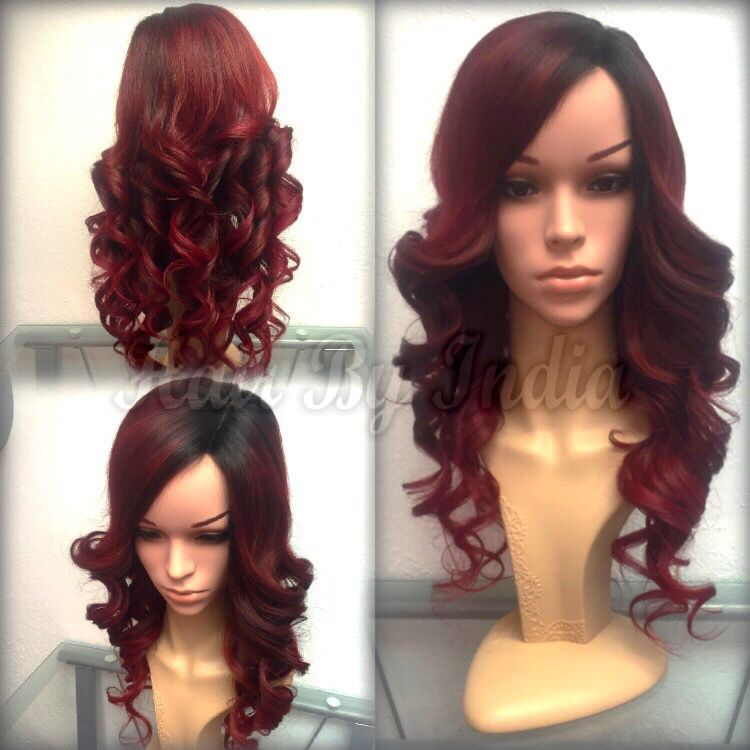 Custom Colored Handmade Wig By India Leviege In Anchorage Alaska