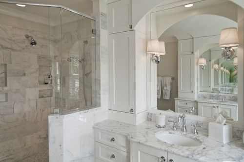 Love This Bathroom Vanity Restoration Hardware Sconces Cisal By Rohl Faucet Single Sink Traditional Bathroom Traditional Bathroom Designs Bathroom Interior