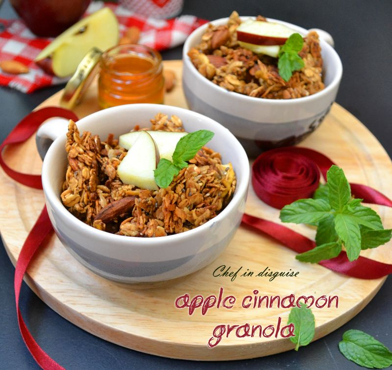 The ultimate apple cinnamon granola do it yourself today the ultimate apple cinnamon granola solutioingenieria Image collections