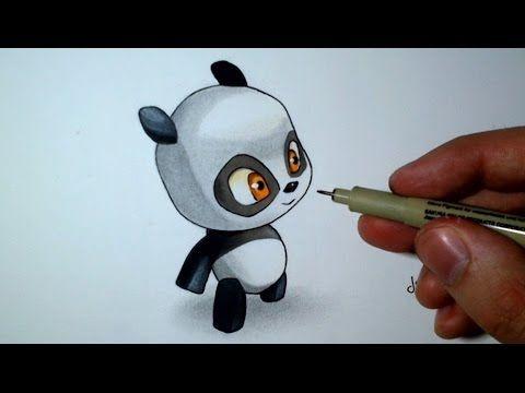Comment dessiner un b b panda kawaii tutoriel spe - Panda a dessiner ...