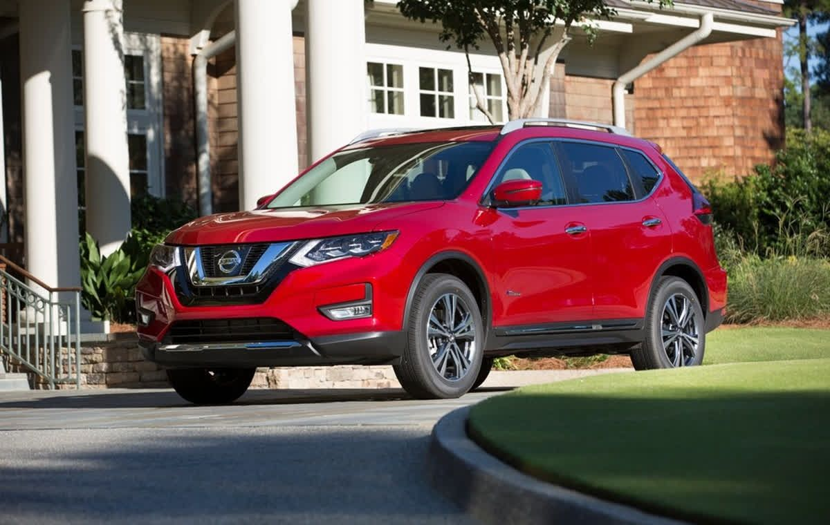 If you choose the hybrid Nissan Rogue, it uses a 2.0
