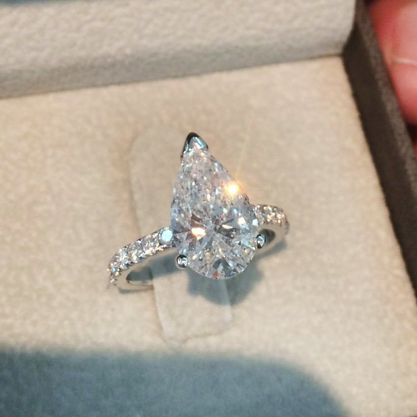 24++ What wedding band looks best with a princess cut solitaire ideas in 2021