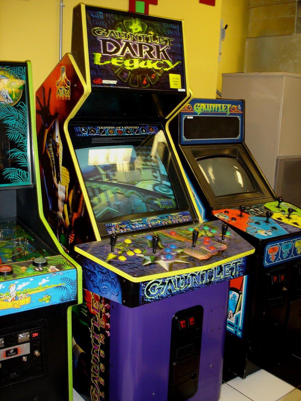 Gauntlet Legends Gauntlet Dark Legends Arcade Game Machines