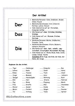 artikel language german deutsch artikel deutsch unterricht und deutsch nachhilfe. Black Bedroom Furniture Sets. Home Design Ideas